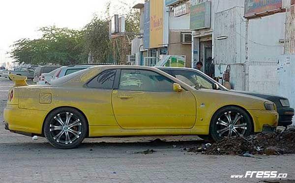 15 Coches de lujo abandonados en Dubai  Fress