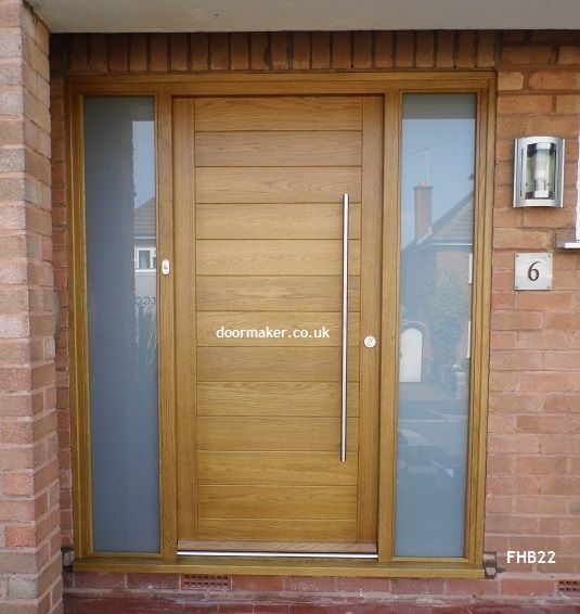 Contemporary front doors, Contemporary doors and Bespoke on Pinterest