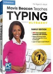 MAVIS BEACON TEACHES TYPING POWERED BY ULTRAKEY - FAMILY EDITION AMR (WIN XP,VISTA,WIN 7,WIN 8/MAC 10.6 OR LATER)