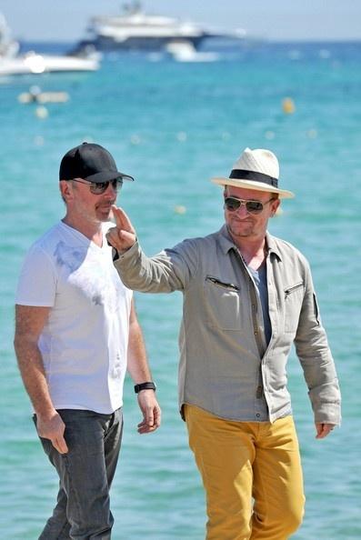 Bono and The Edge in Saint Tropez