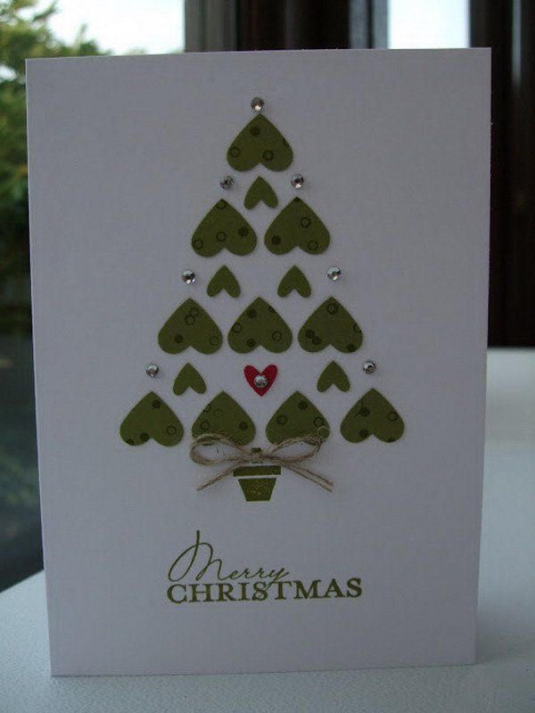 homemade xmas card 58 http://hative.com/homemade-christmas-cards/