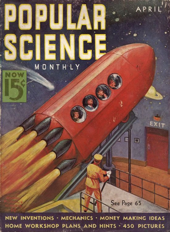 Rocket to the Stars at the 1939 New York World's Fair