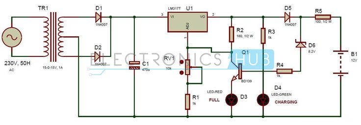 Few Lm317 Voltage Regulator Circuits Electronic Circuits And