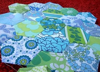 Kreativ ♥ Impulsiv: Patchwork Hexagon