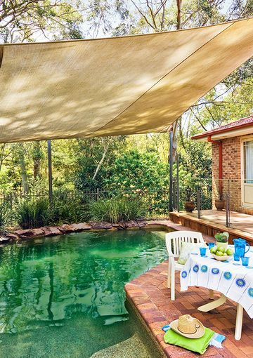 Shade Sails Shades And Better Homes And Gardens On Pinterest