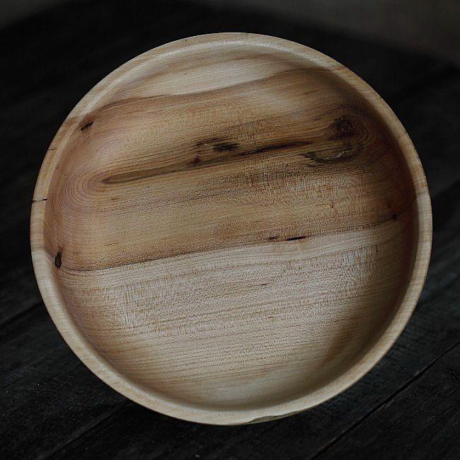SILKA, Maple Wooden Platter made by Loved Things | Un delicat castron din lemn masiv de paltin, unicat, handmade, un produs creatie Loved Things
