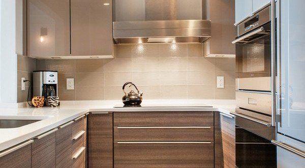 صور مطابخ 2019 احدث تصميمات و ديكورات مطابخ ميكساتك Small Modern Kitchens Modern Kitchen Modern Kitchen Design