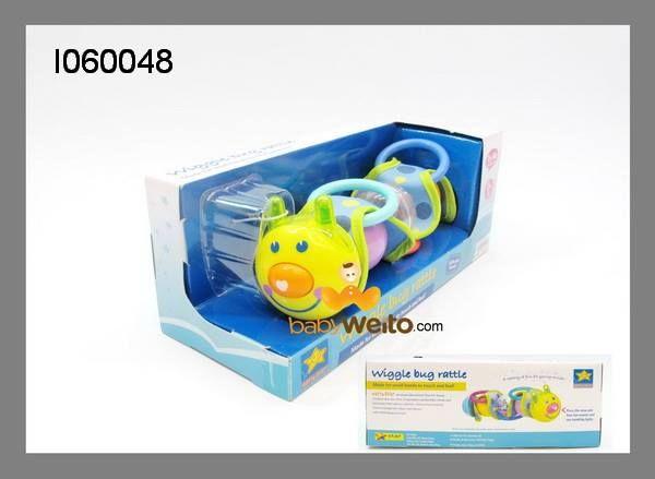 I060048  Wiggle bug rattle  Ada musik,teether,rattle  BPA Free  Usia 0m+  IDR 115*  BCA 6320-2660-58 a/n HENDRA WEITO MANDIRI 123-00-2266058-5 a/n HENDRA WEITO PANIN 105-55-60358 a/n HENDRA WEITO  Telp :021-9388 9098
