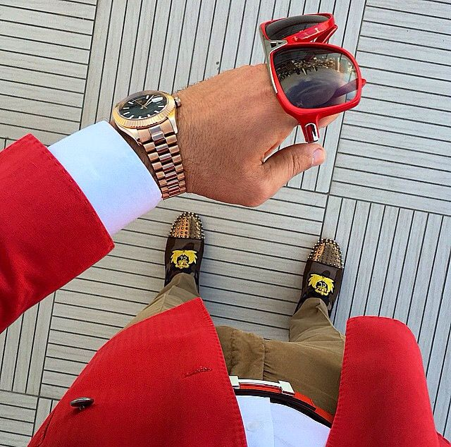 MTD Style / Hermes belt - Louis Vuitton sunglasses - Rolex ...