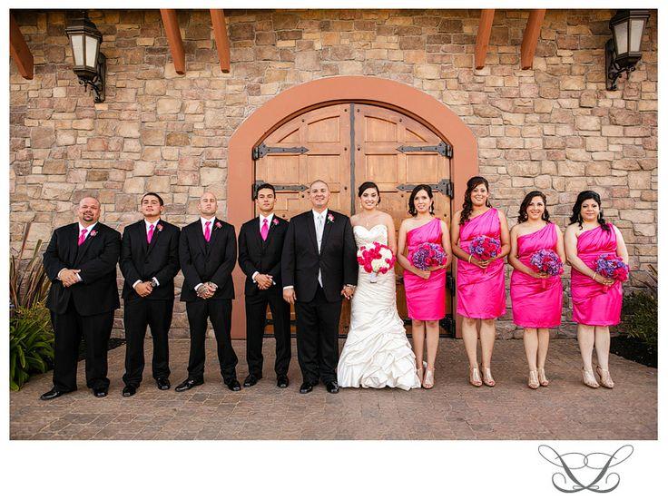Hot Pink Wedding Theme Fashion Dresses