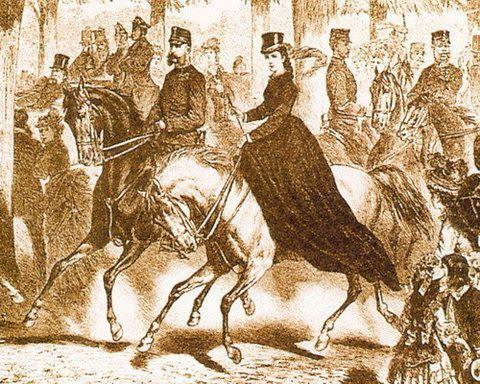 Empress Elisabeth and Emperor Franz Joseph