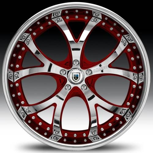 Chevrolet Camaro Custom Wheels Asanti af 143  2-tone custom red 4k