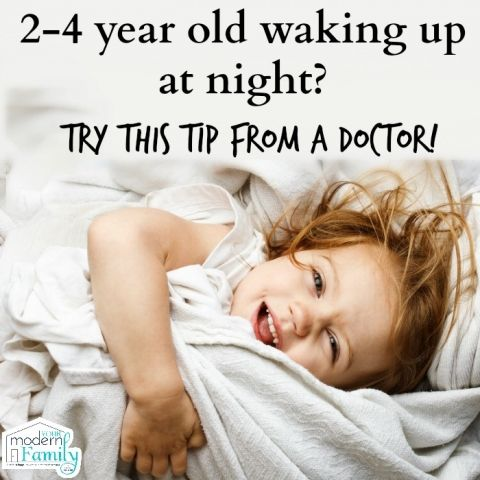 2, 3 or 4 year old waking at night