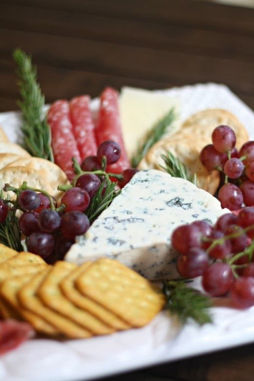 DIY Video Tuorial: Chic Meat & Cheese Platter. Put it together in two minutes. From A Thoughtful Place