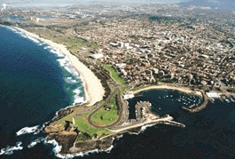 Overhead view of Wollongong...yes, it really is that gorgeous and the weather is fabulous!