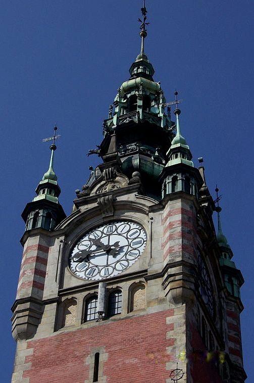Wieża zegarowa Dworca Głównego | #gdansk #sightseeing