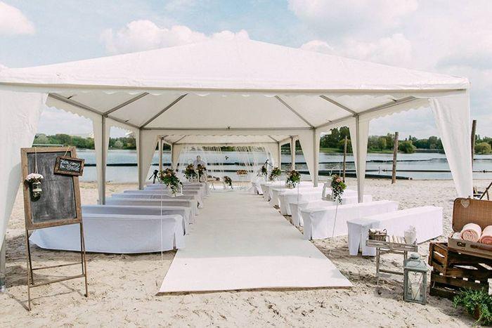 #Hochzeit am Fühlinger #See in Köln