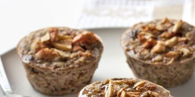 This muffin-tin baked oatmeal is the perfect morning taste treat.