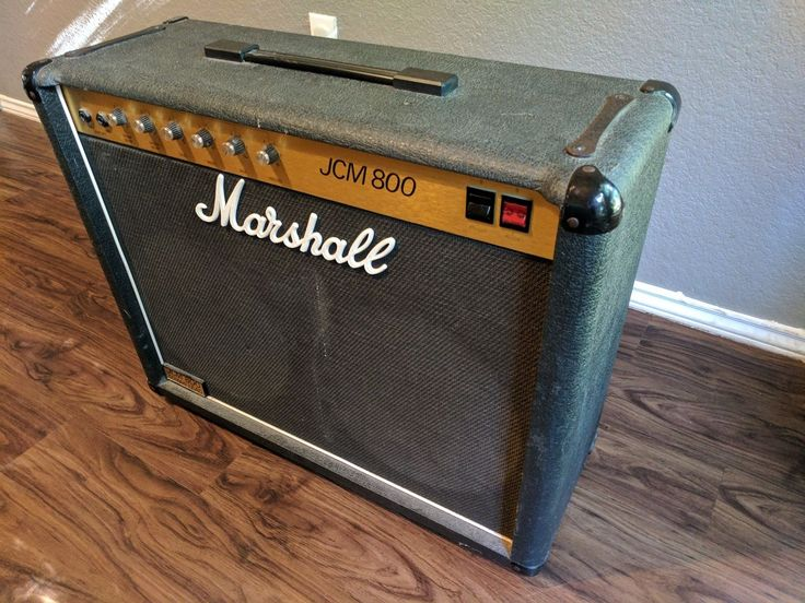 Marshall 4104 JCM800 vintage 212 tube guitar amp combo-used amplifier for sale