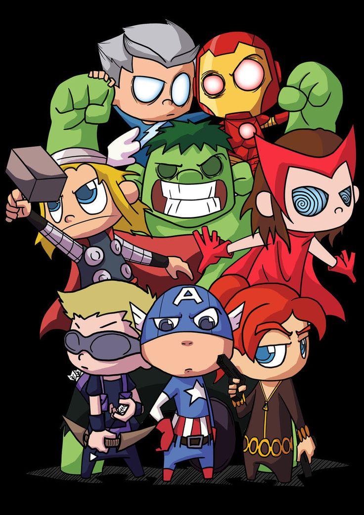 #Baby #Avengers #Fan #Art. (Baby Team) By:Rezaazmi. ÅWESOMENESS!!!™ ÅÅÅ+