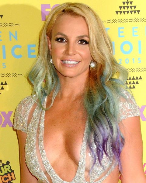 Proof that Britney Spears is actually a mermaid in real life.