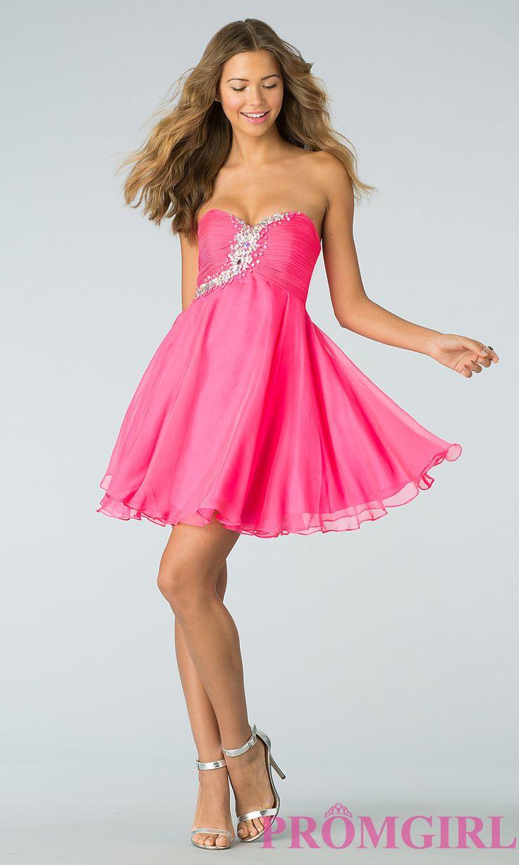 81 mejores imágenes de Pink Dresses en Pinterest | Vestidos cortos ...