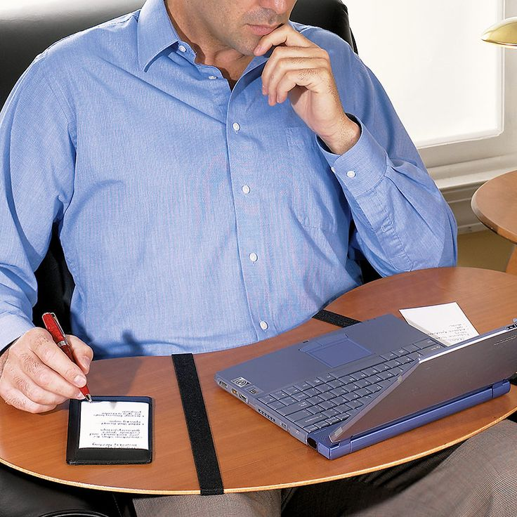 Lap Desk - Portable Lap Desk - Levenger.    I have one of these that I lent to a friend who just had surgery. Ordering another for my LA home.  LOVE these!