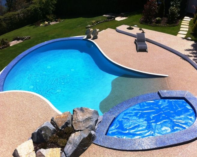 17 best ideas about resin bound gravel on pinterest for Plastic garden pool