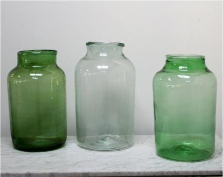 Large Glass Pickle Jars
