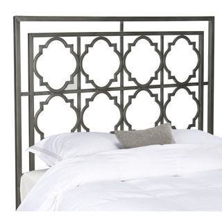 Safavieh Silva Antique Iron Metal Geometric Headboard (Queen) - Free Shipping Today - Overstock.com - 17439393 - Mobile