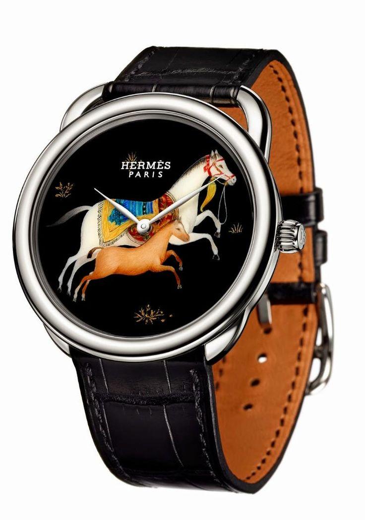 TimeZone : Industry News » N E W  M o d e l s - Hermès Arceau Cheval d'Orient
