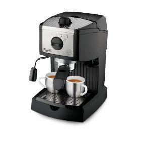 #2: De'Longhi EC155 15 BAR Pump Espresso and Cappuccino Maker.