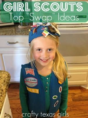 girl scout craft and swap ideas
