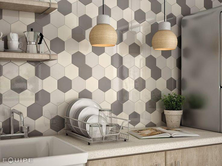 Blog Dla Ludzi Z Wnetrzem Plytki Heksagonalne Kitchen Wall Tiles Kitchen Tiles Backsplash Kitchen Wall