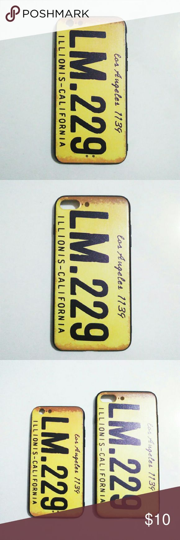 iphone case NEW Style iPhone Case Innovative Design Beautiful and Fashion  THIS IPHONE CASE AVAILABLE FOR iPhone 6/6S iPhone 6/6S Plus iPhone 7 iPhone 7 Plus  Check my store for MORE OPTIONS: Vehicle Number Plate of Los Angeles LM.299  Vehicle Number Plate of Oklahoma FU 724 The Beatles Hollywood Clapperboard Elephant with Standing Ring Other