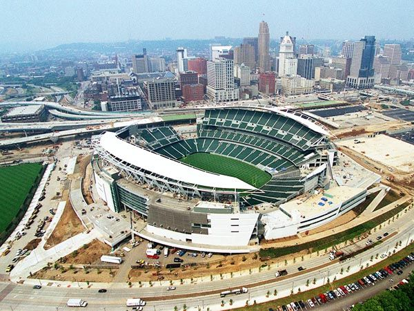 Paul Brown Stadium : home of the Cincinnati Bengals