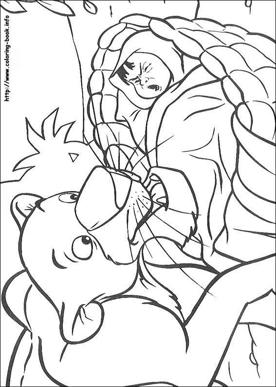 Jungle Book coloring picture
