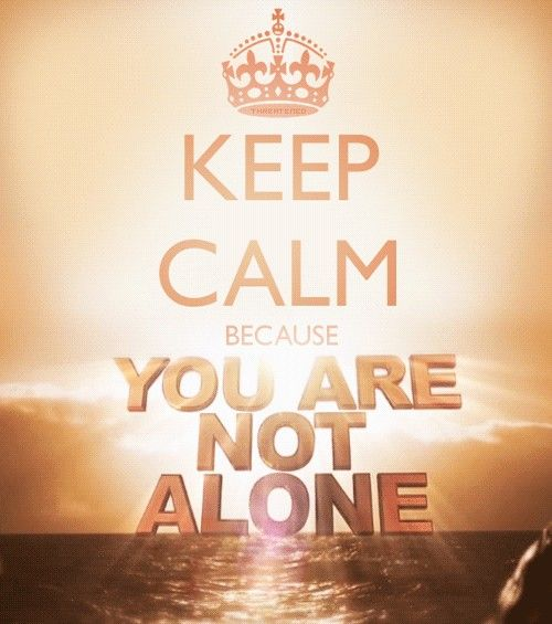 "KEEP CALM !!! ""I am with you every day, even unto the end of time. Amen"" -Jesus #keep_calm"