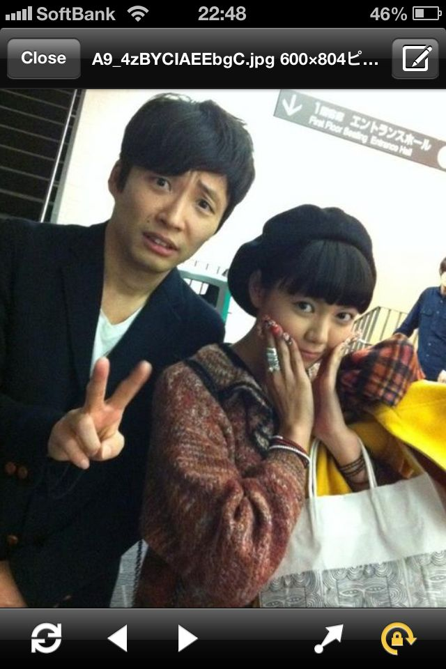 二階堂ふみ Fumi Nikaido Japanese actress + 星野源 Gen Hoshino musician