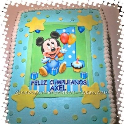 13 best 1st Birthday Party images on Pinterest Mickey party
