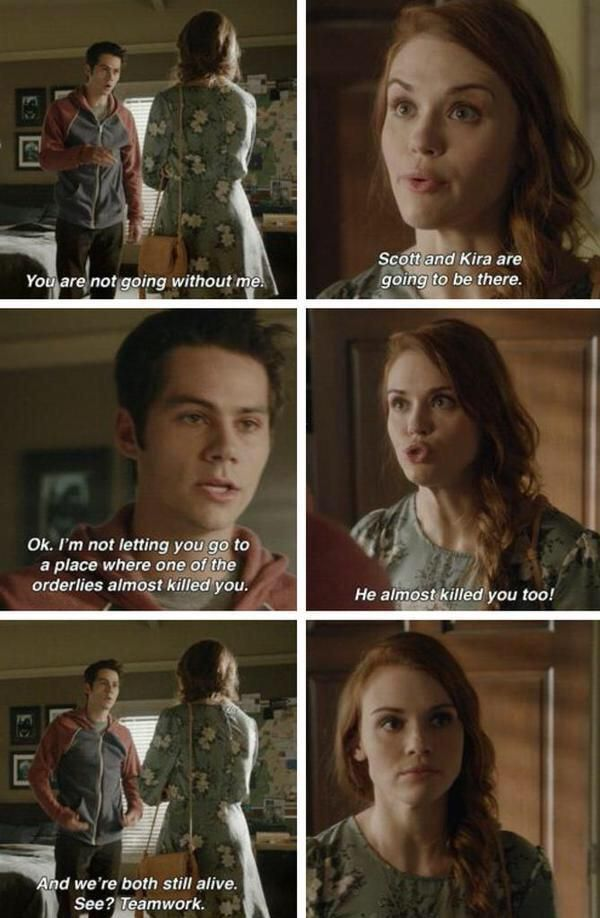 This scene was just so perfect! He wouldn't let her go without him because he knows he would sacrifice himself to save her and does know if anyone else will so he has to go. He has to make sure she's okay no matter what. Even if that means going back to that plate #Stydia<3
