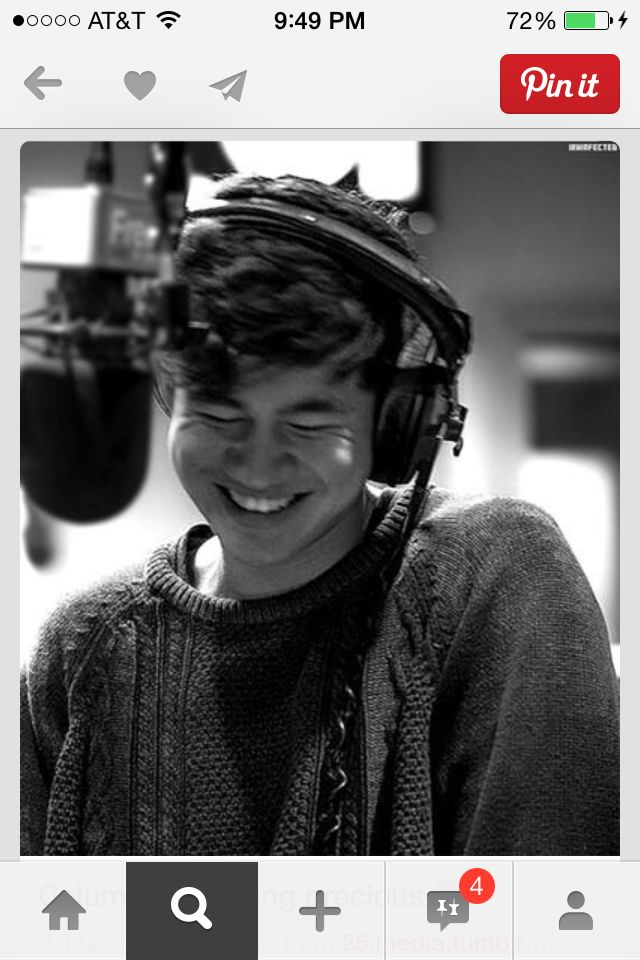 Calum is too cute for words