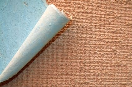 home made wall paper paste apply to paper or fabric and peel off in