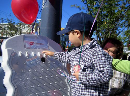 Plinko Games are a lot of fun for kids, too. Check out this plinko board in action. Buy this Plinko Game at http://PrizeWheel.com/products/plinko-game/.