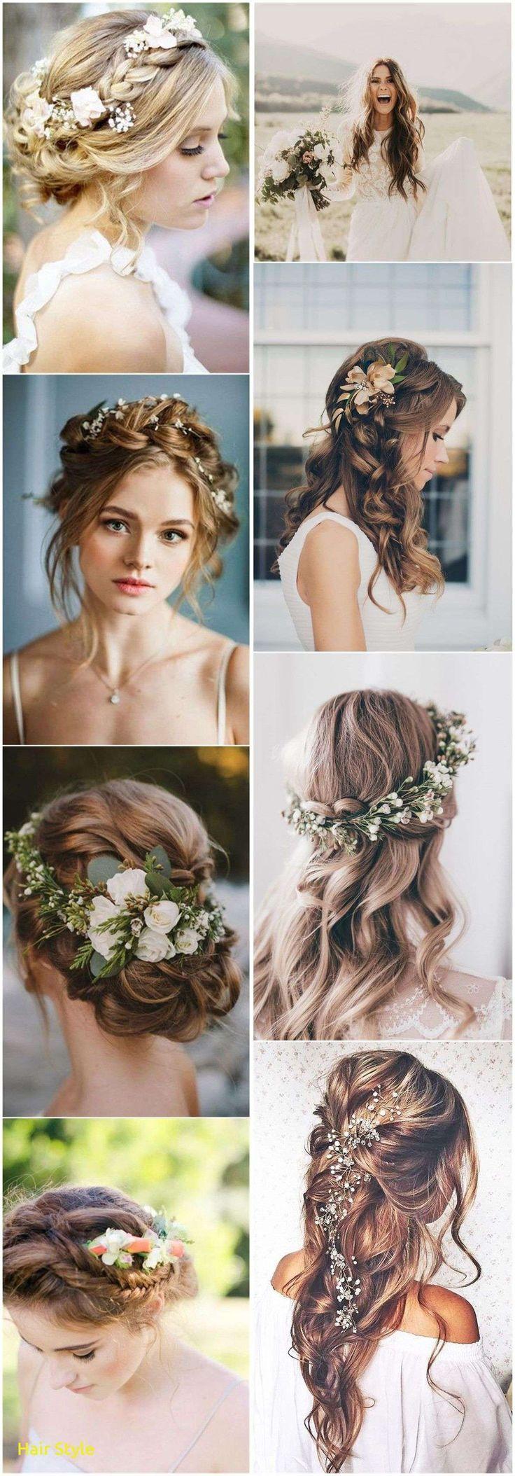 Frisches Boho-Strand-Hochzeits-Haar – Brautfrisur