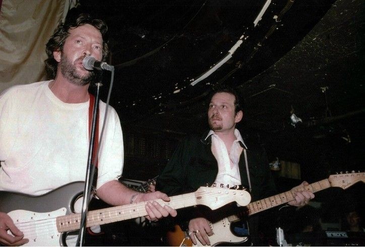 Early Ronnie Earl with Eric Clapton