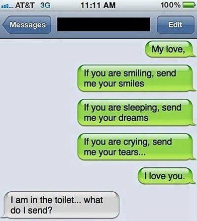 Awkward Text Message - http://www.jokideo.com/awkward-text-message/
