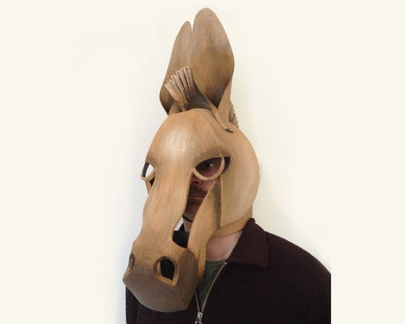 Donkey Mask Midsummer Night's Dream. Ready to by TentacleStudio