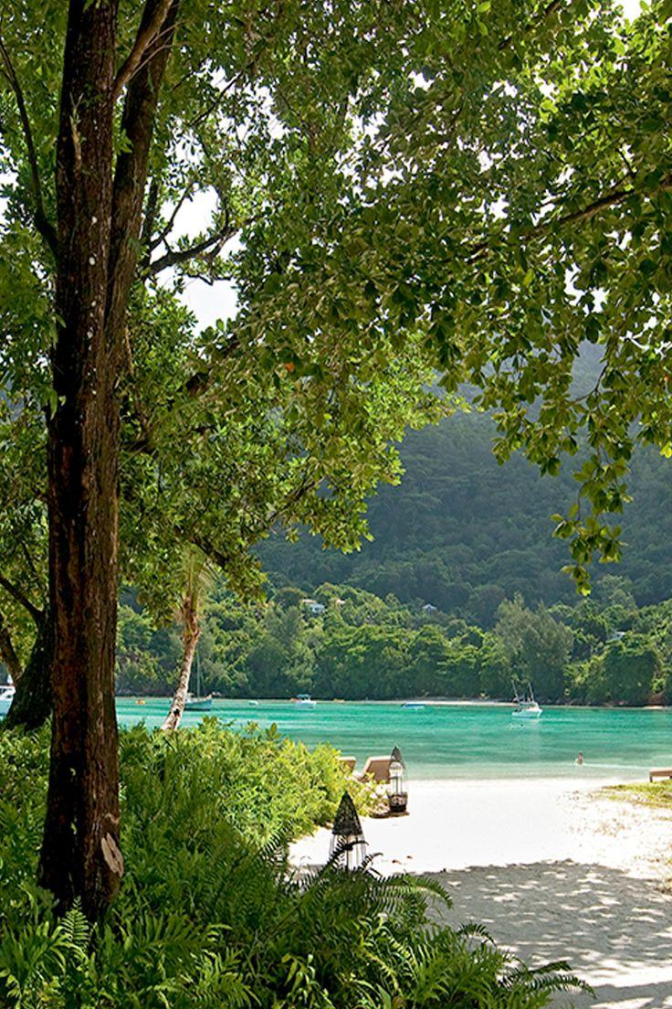 Secluded beaches in Seychelles near Constance Ephelia resort