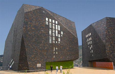 Parque España Library in Colombia